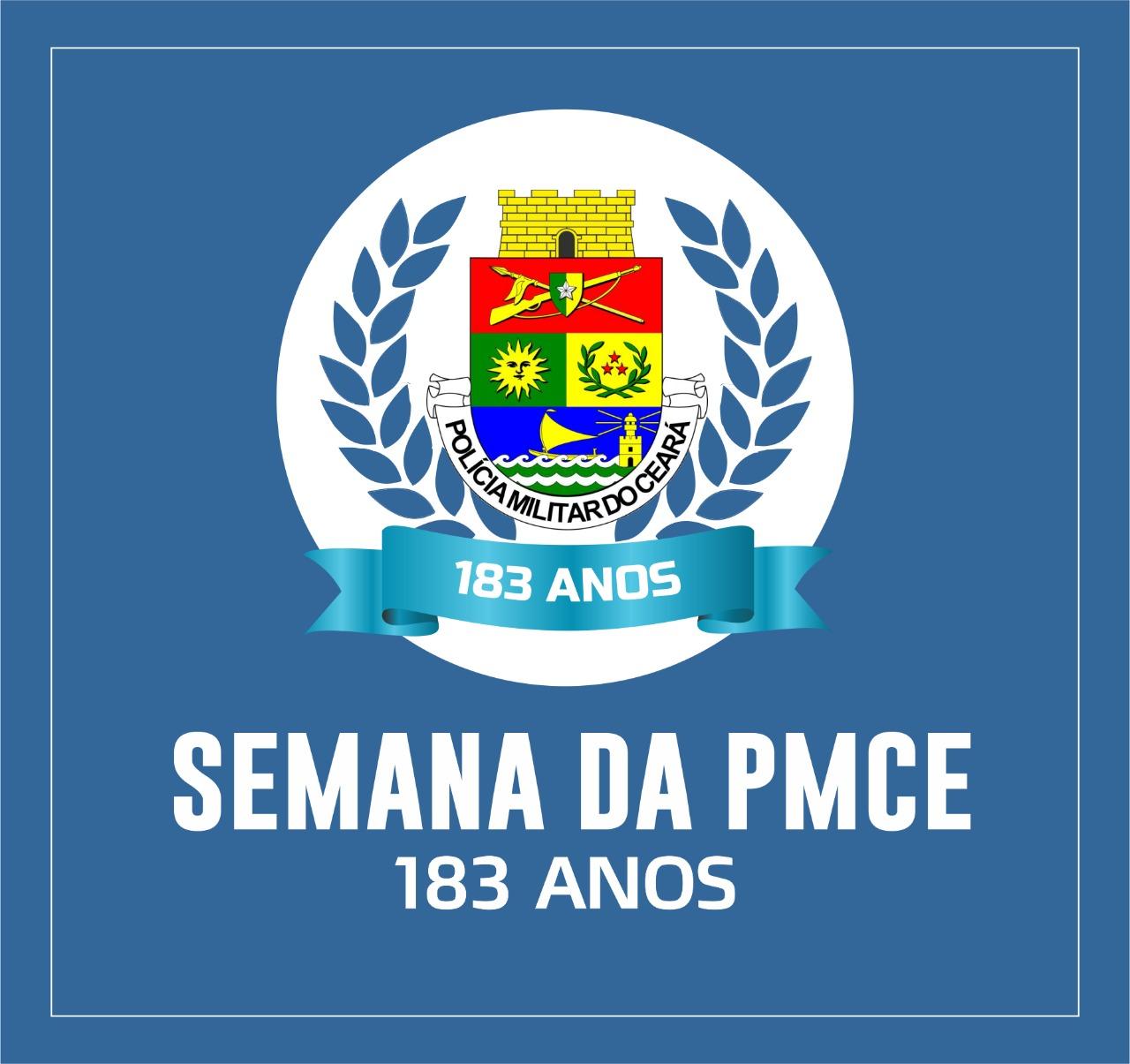 PMCE divulga programação alusiva ao Aniversário de 183 anos da Corporação