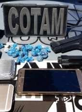 Veículo e vários bens roubados são recuperados após ação do Cotam