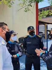 Comandante Geral da PMCE visita CSASR