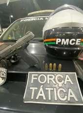 BPTUR prende homem com pistola calibre .40 na Comunidade dos Cocos