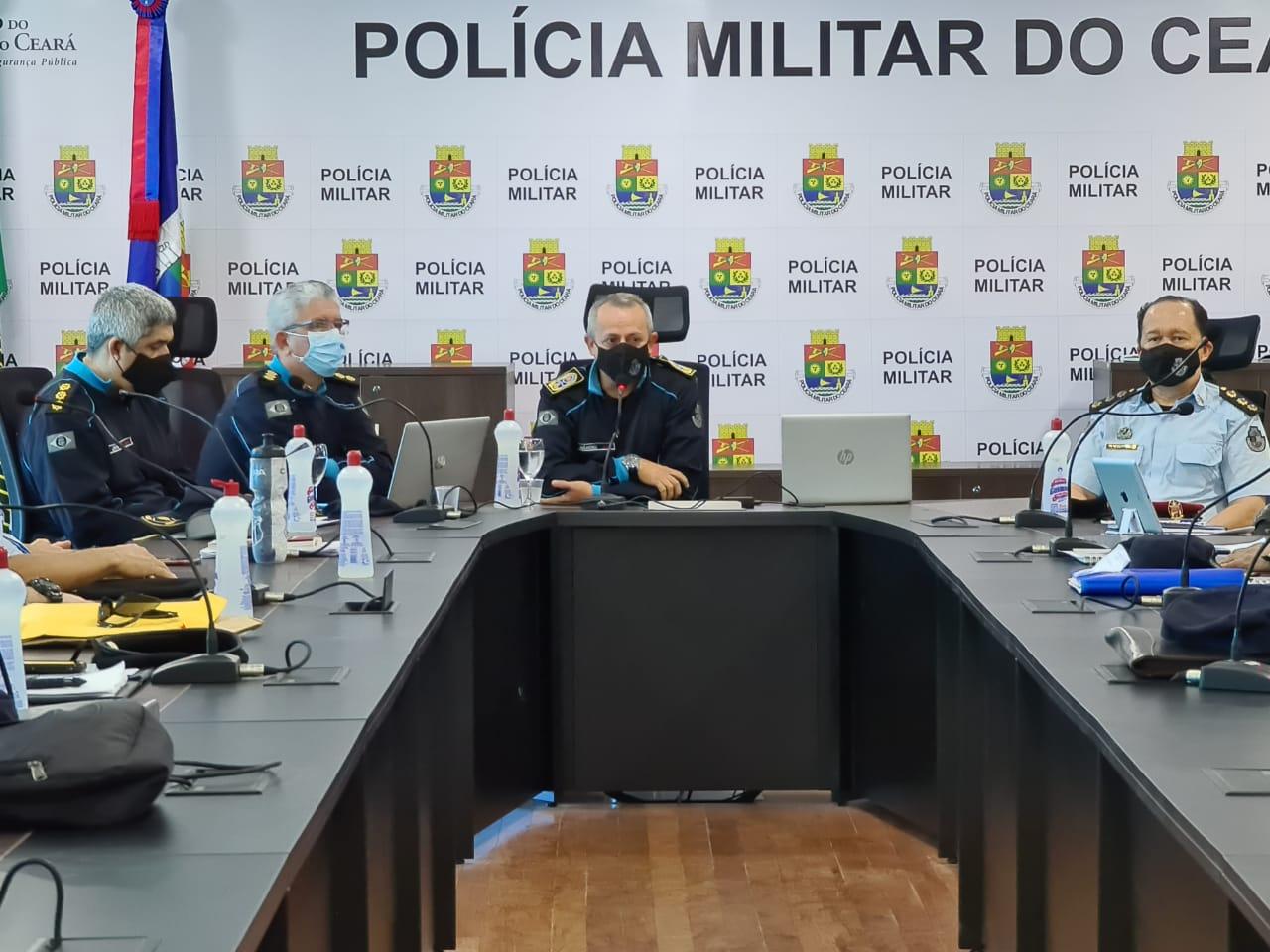 Polícia Militar do Ceará apresenta planejamento da Operação Eleição 2020