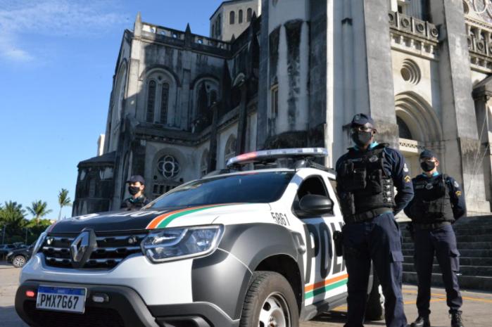 Centro de Fortaleza recebe reforço da Polícia Militar para as compras de final de ano - Polícia Militar