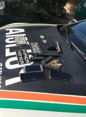 PMCE apreende arma e 85 munições em ação que resulta na prisão de dois homens em Caucaia-CE