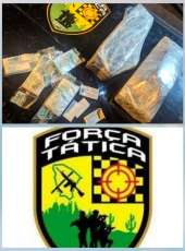 PMCE apreende drogas escondidas em uma residência em obras na RMF