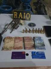 Trio armado suspeito de roubo é capturado pelo CPRaio da PMCE em Sobral-CE